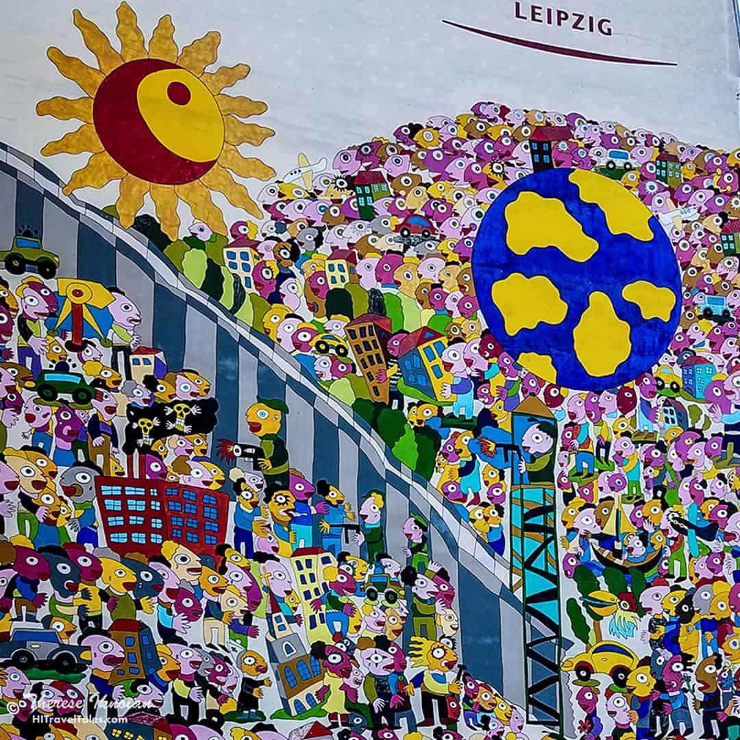 Leipzig Street Art Wall
