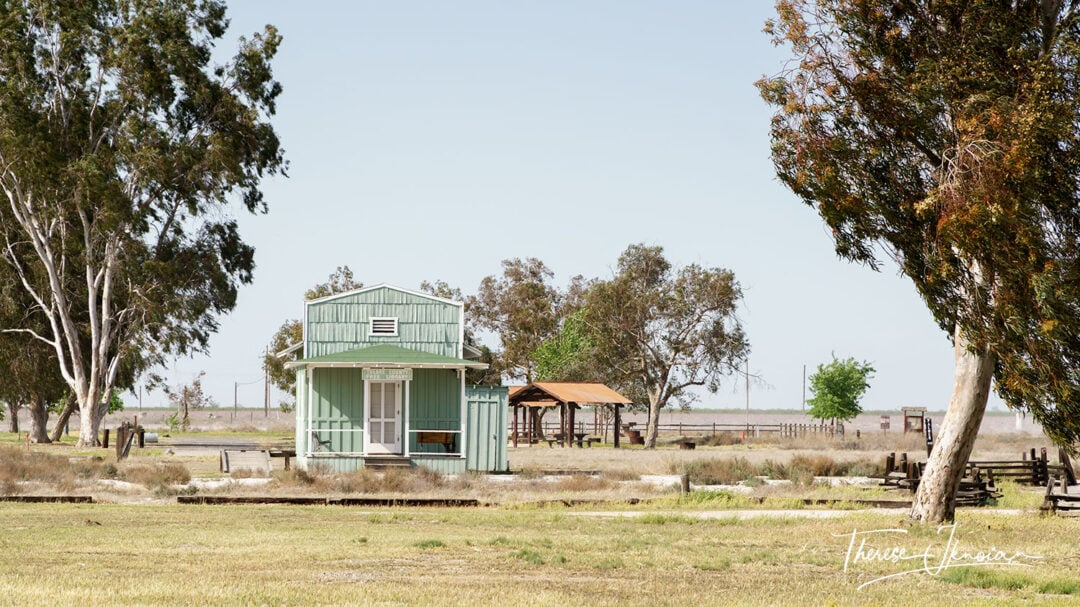 Library Allensworth State Historic Park
