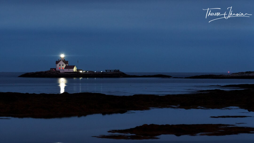Lighthouses In Maine Cuckold Southport