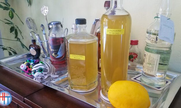 Best limoncello recipe: limoncello with Everclear for real Italian flavor