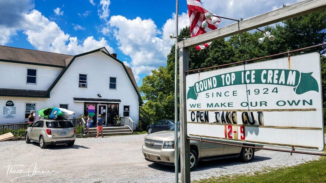 Maine Ice Cream Treats Round Top