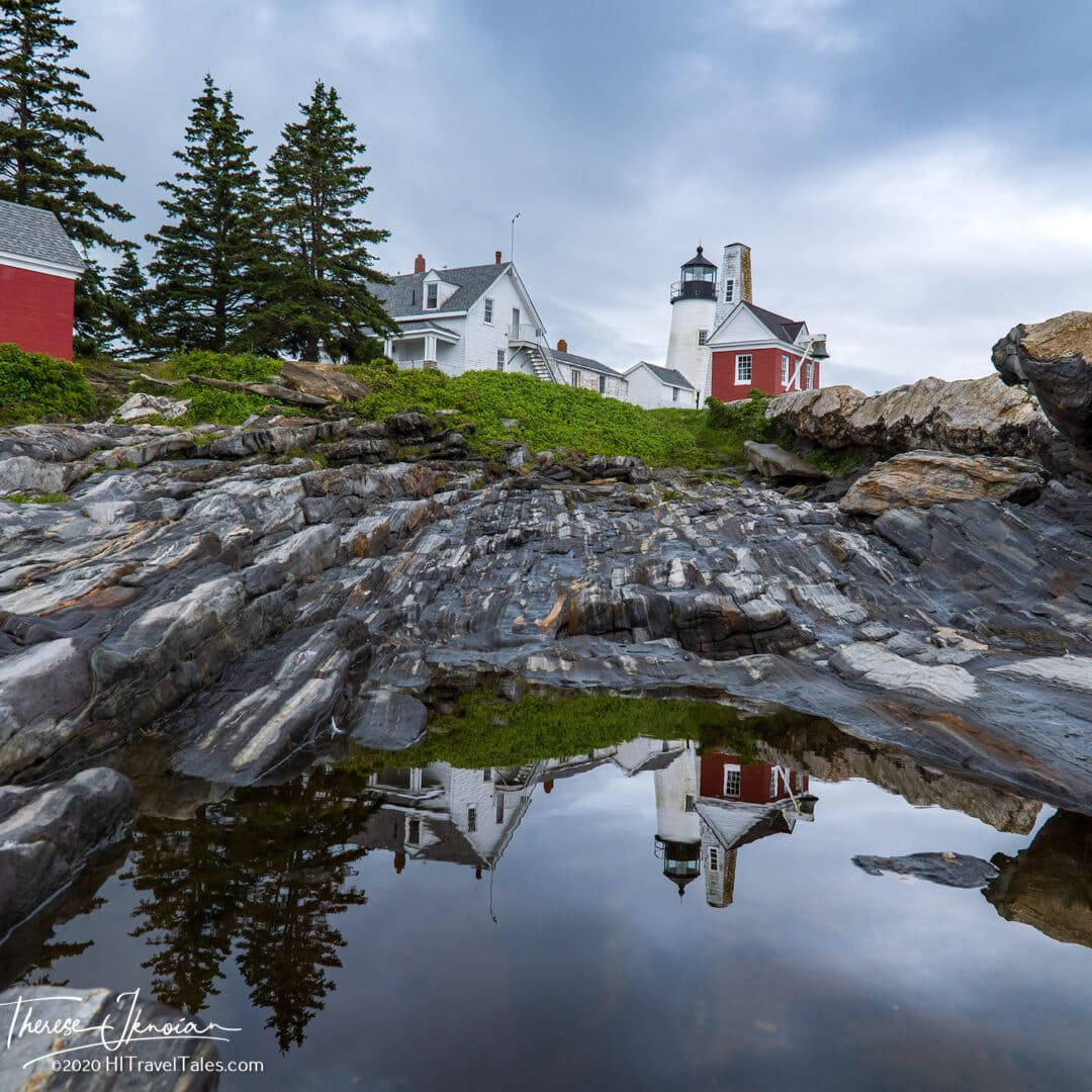 Maine Pemaquid Reflection