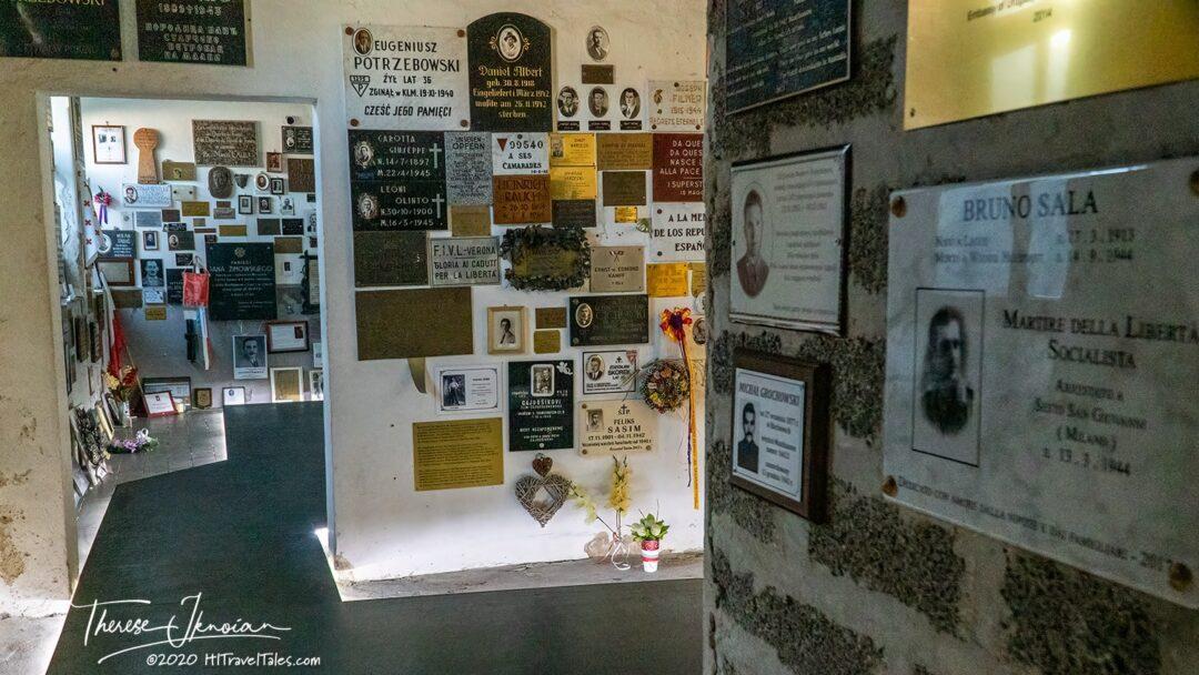 Mauthausen Cremtoria Memorial Area