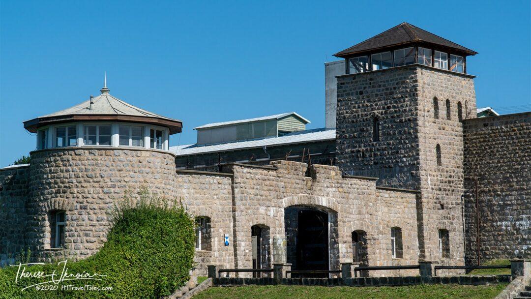 Mauthausen Nazi Camp Entrance