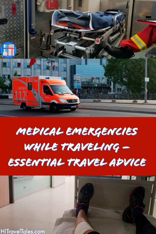 Medical emergencies while traveling.