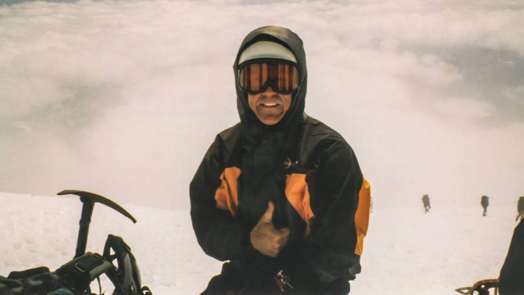 Michael Hodgson Summit Mount Rainier