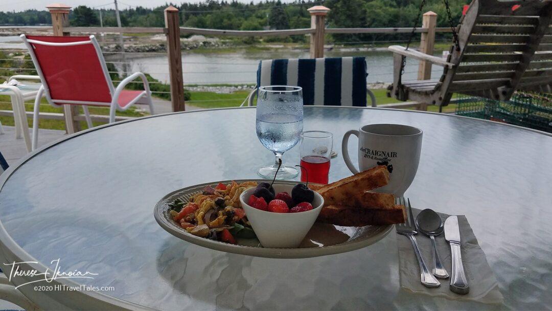 Mid Coast Maine Inn Breakfast
