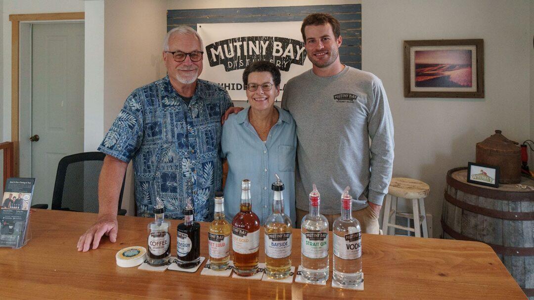 Mutiny Bay Distillery Rod Kathy Scott