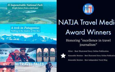 HI Travel Tales wins top 2018 national travel journalism awards