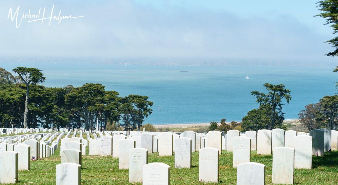 National Cemetery Overlook In Presidio San Francisco