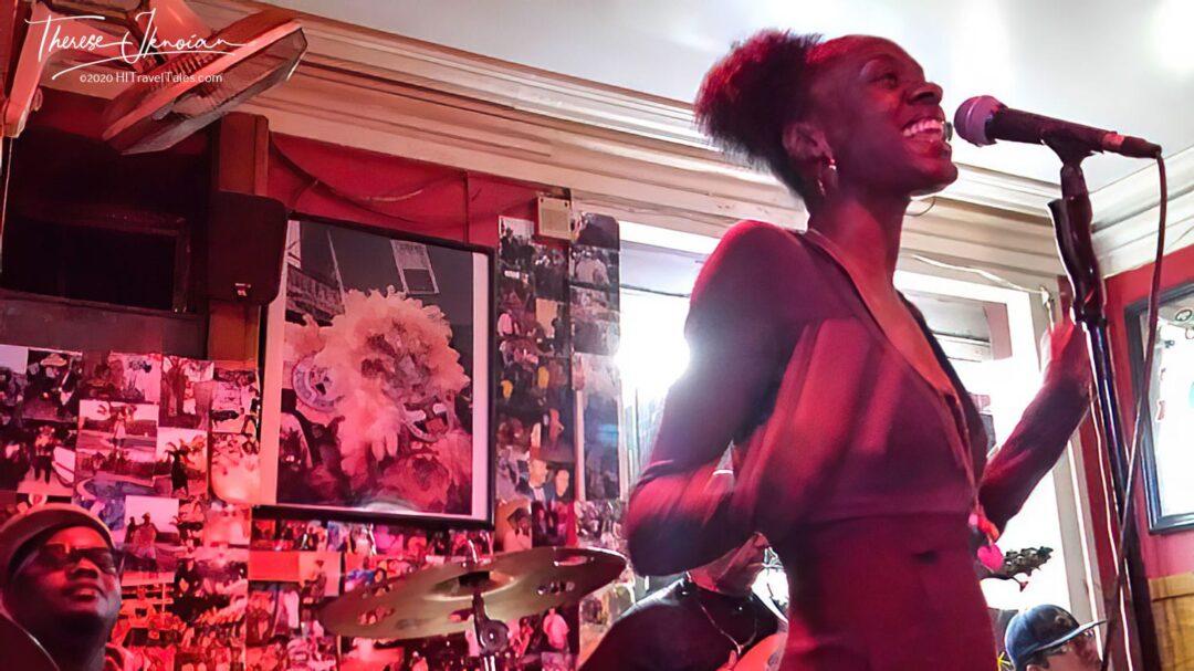 Noya Jones Singing At Bullets