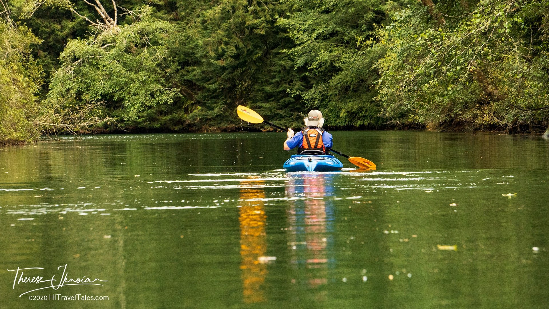 Noyo River Kayak Tour Michael Peaceful