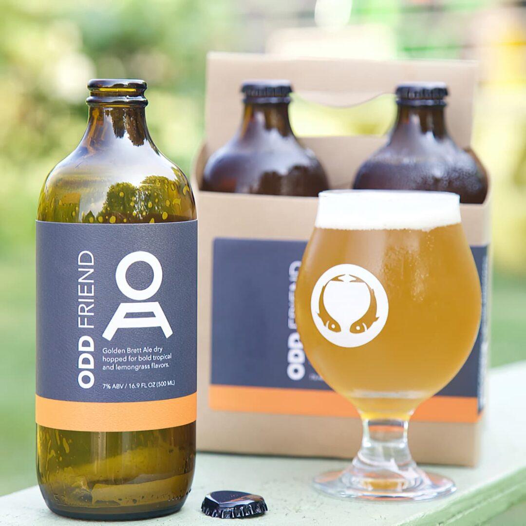 Odd Friend Bottled Odd Alewives Maine Gift