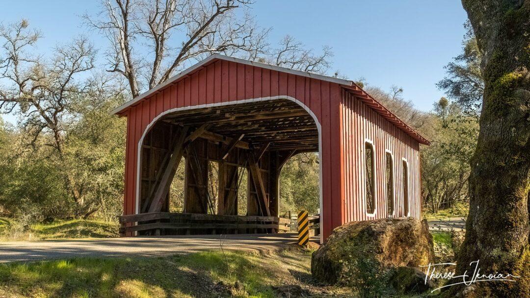 Oregon City Covered Bridge Front