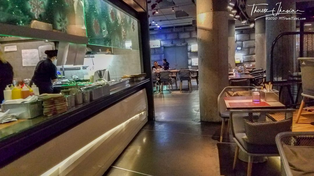 Ostannya Barykada Restaurant Dining Room