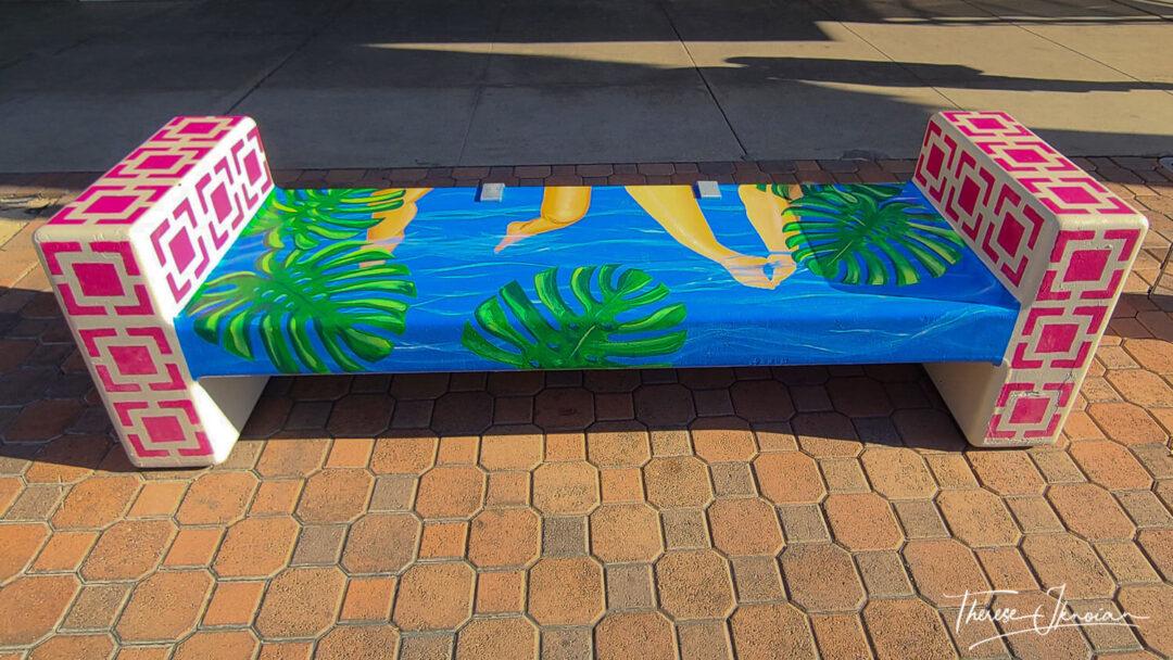 Palm Springs Public Art Scene Public Bench