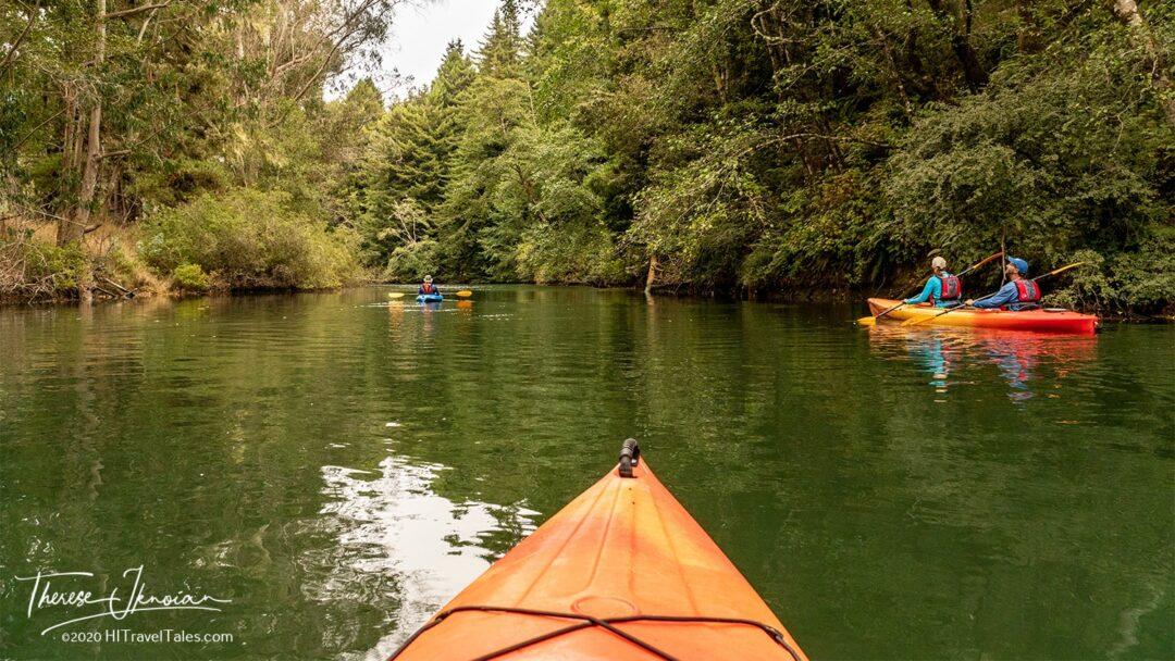 Peaceful Paddle Noyo River