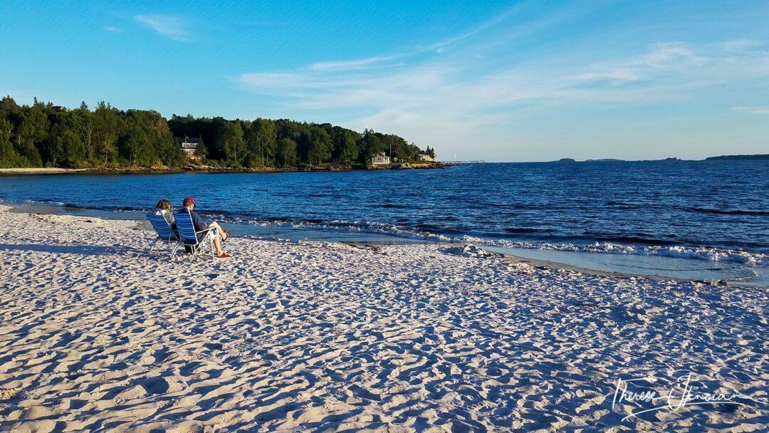 Pemaquid Beach In Midcoast Maine