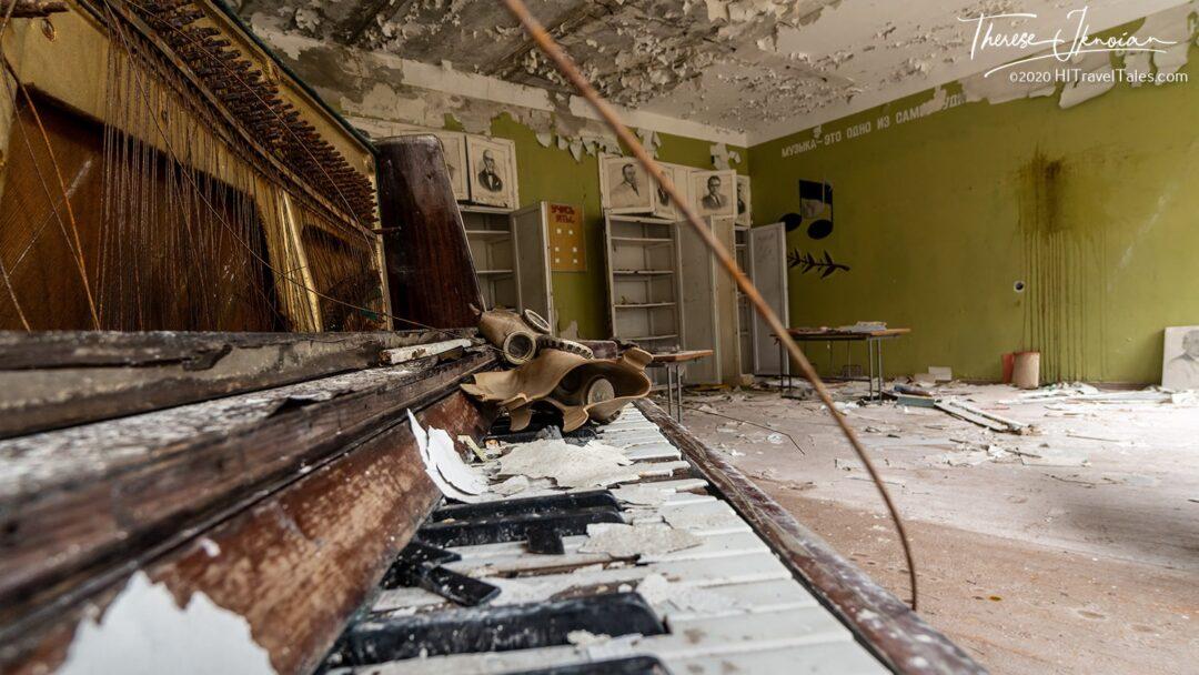 Piano Classroom Woodpecker Complex Chernobyl