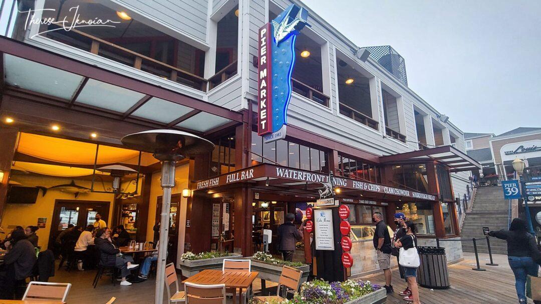 Pier 39 Pier Market Restaurant Attraction