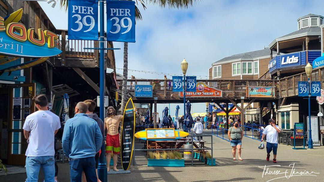 Pier 39 Tourist Attractions