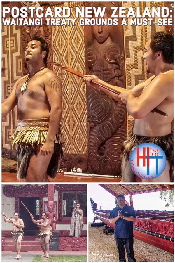 Postcard New Zealand Waitangi Treaty Grounds A Must See