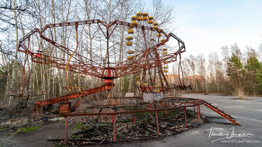 Pripyat Amusement Park Abandoned