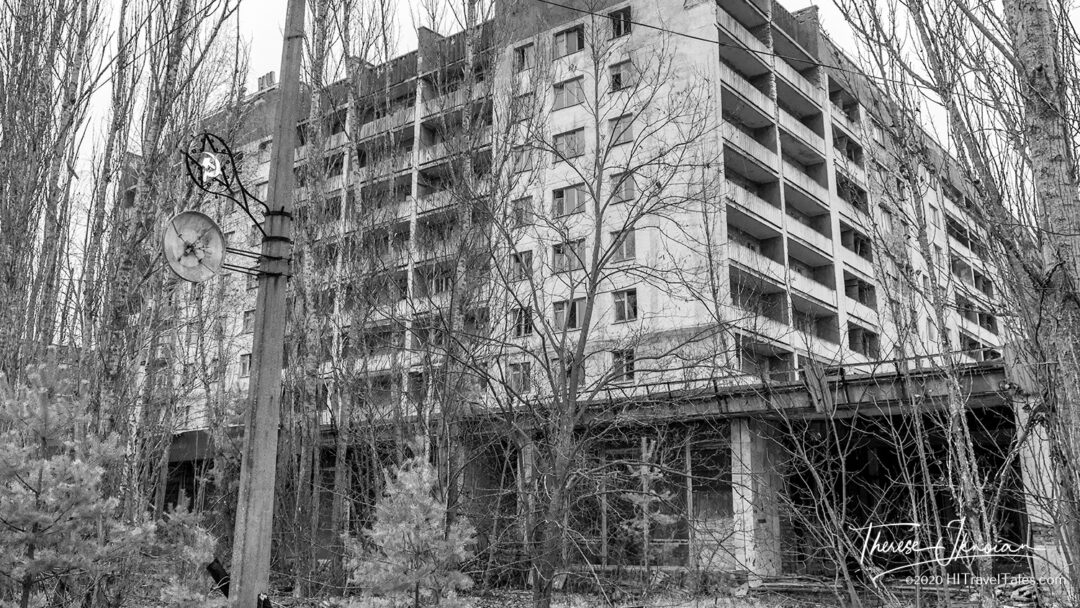 Pripyat City Main Square Hammer And Sickle