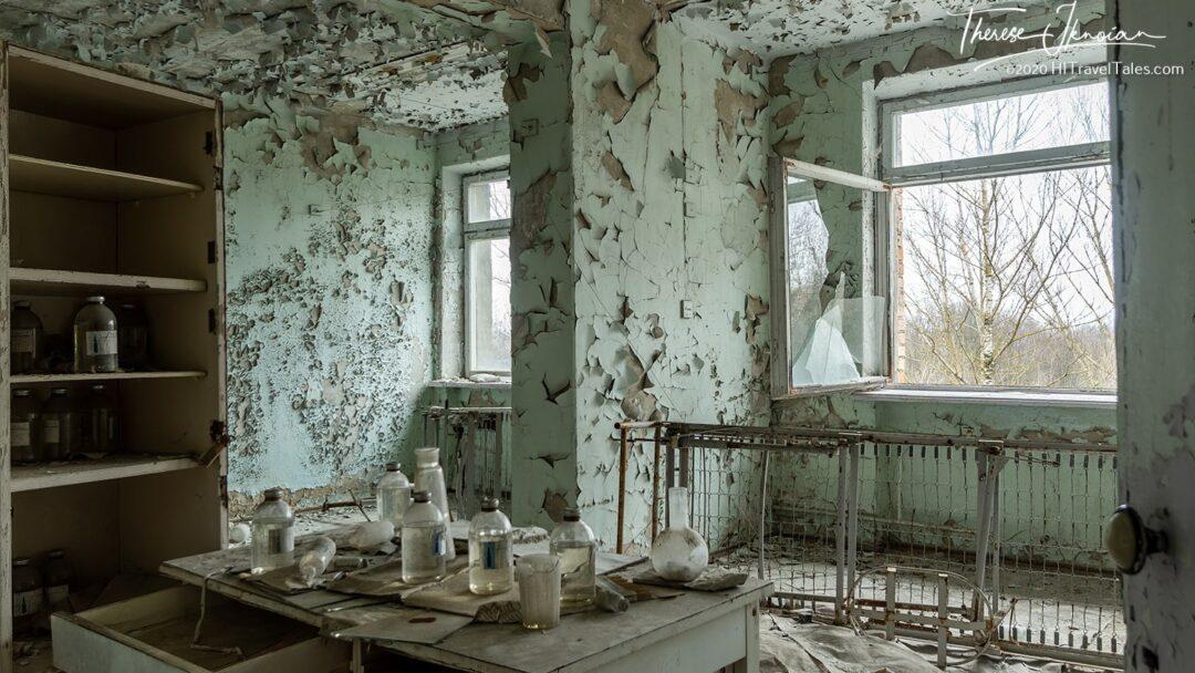 Pripyat Hospital Room Chernobyl