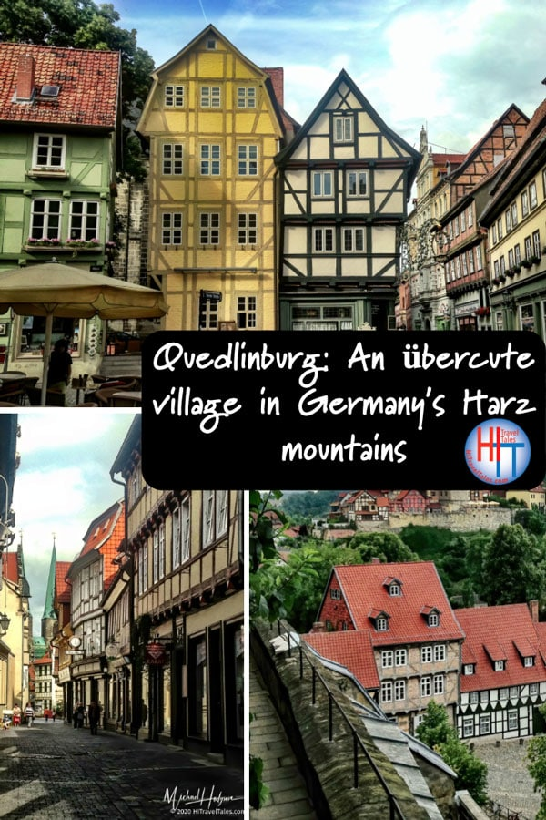 Quedlinburg In The Harz Mountains