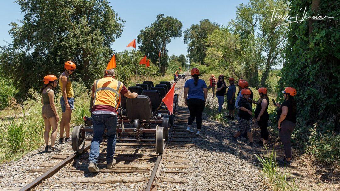 Rail Bikes Turnaround Sacramento