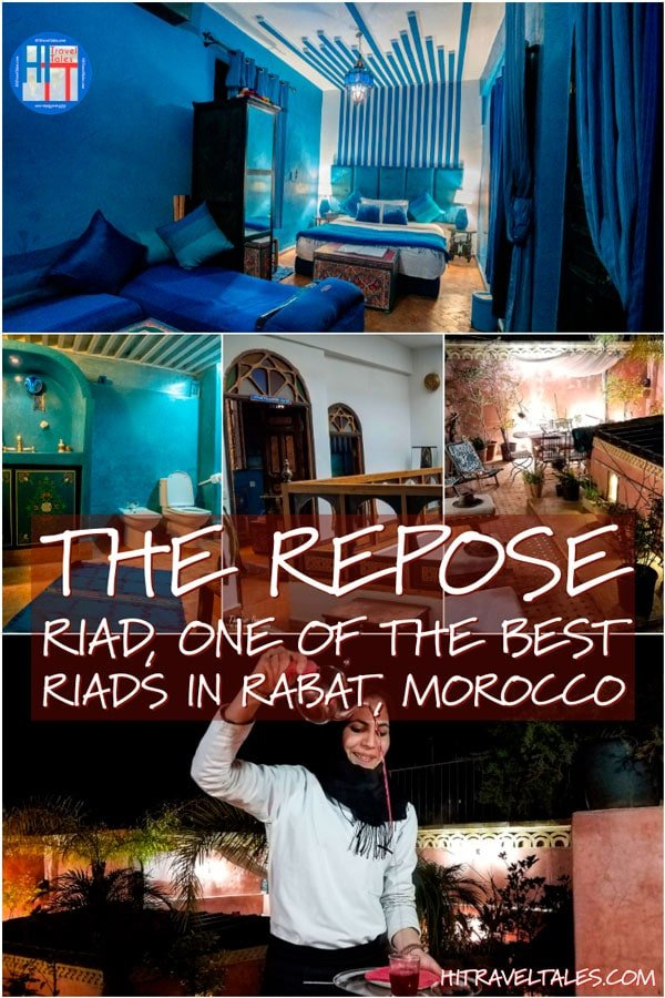 The Repose one of the best riads in Rabat, Morocco.