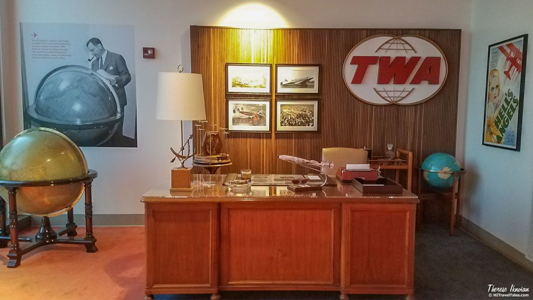 Retro TWA Hotel At JFK Howard Hughes Office