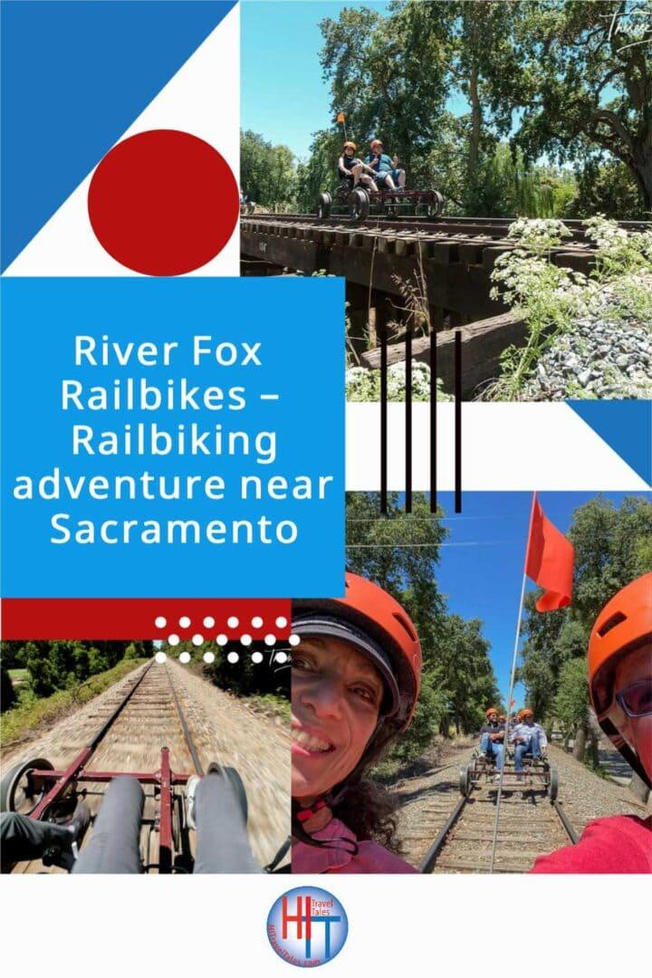 River Fox Railbikes Railbiking Adventure Near Sacramento