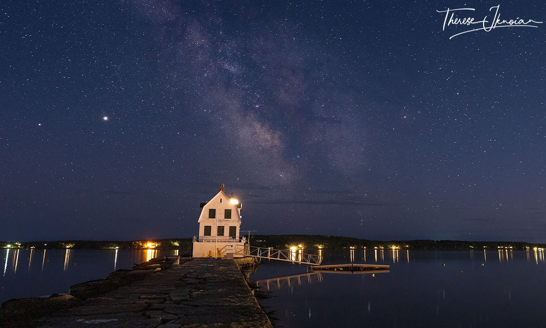 Rockland Breakwater Milky Way