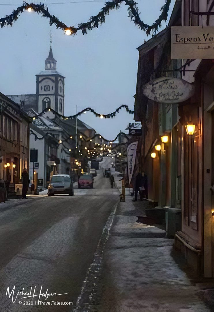Roros Town Street