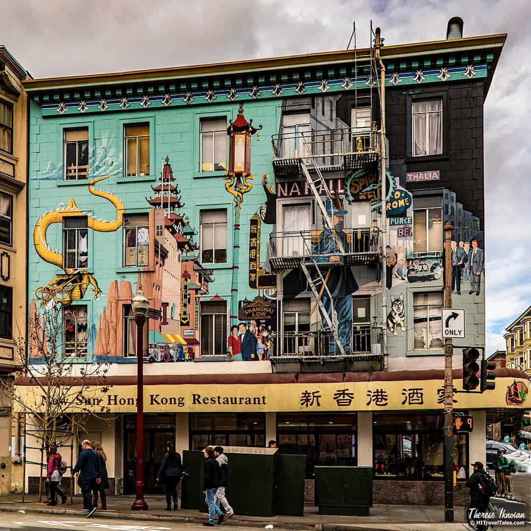 San Francisco Street Art Chinatown