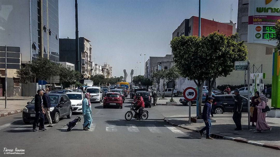 Safety Crossing Streets Morocco