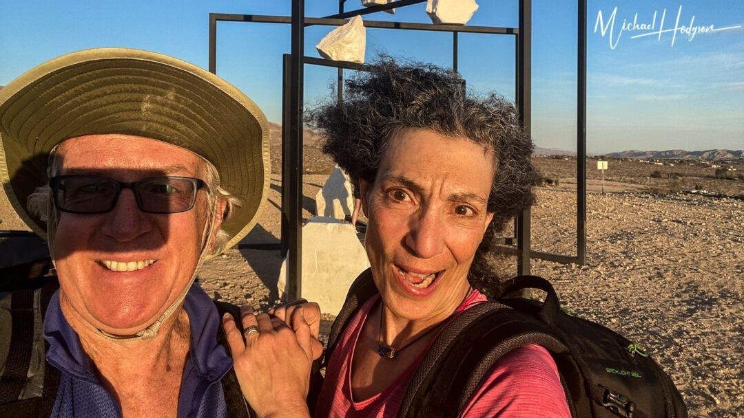 Selfie Fail Desert X ParaPivot