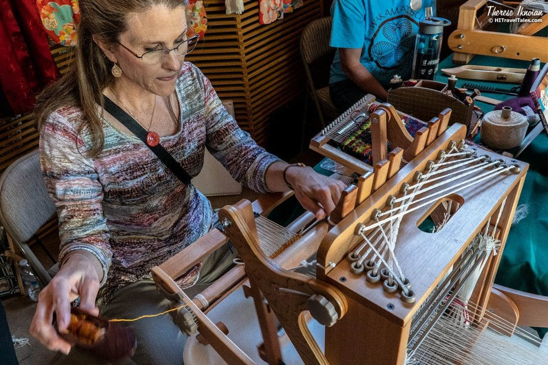 Silk Weaving at Wakamatsu Farm