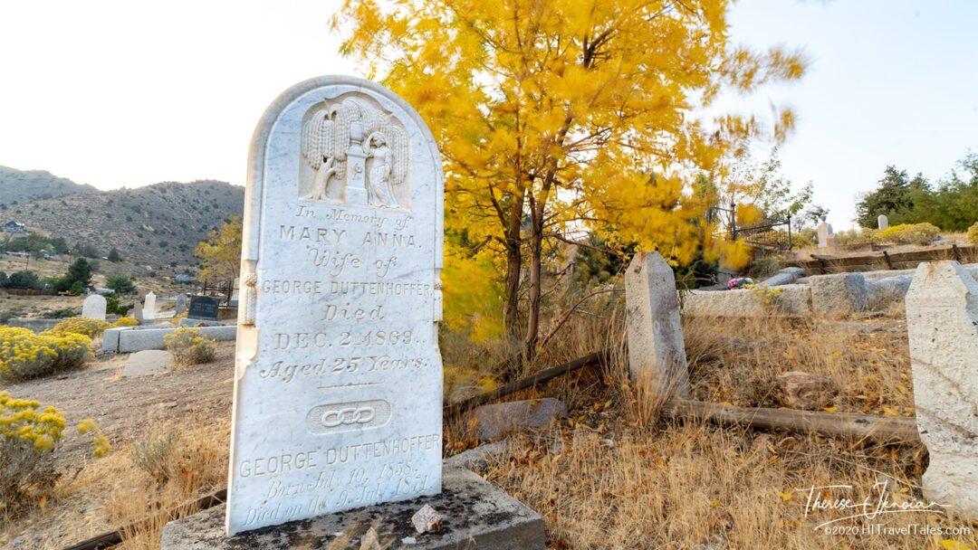 Silver Terrace Cemetery Virginia City