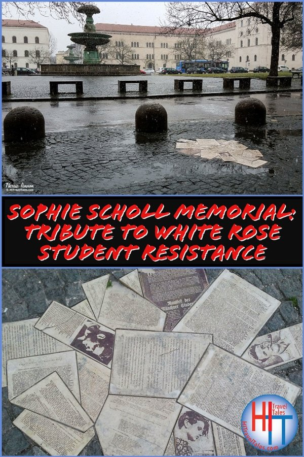 Sophie Scholl Memorial White Rose Student Resistance