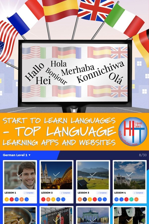 Start To Learn Languages With Apps