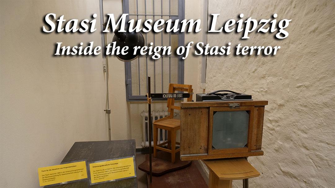 Stasi Museum Leipzig Cover