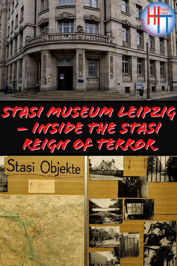 Stasi Museum Leipzig