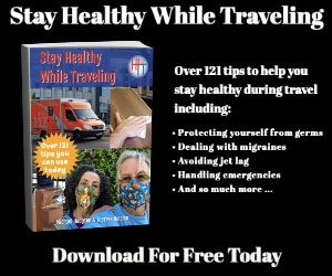Stay Healthy When Traveling Ad 300 X 250