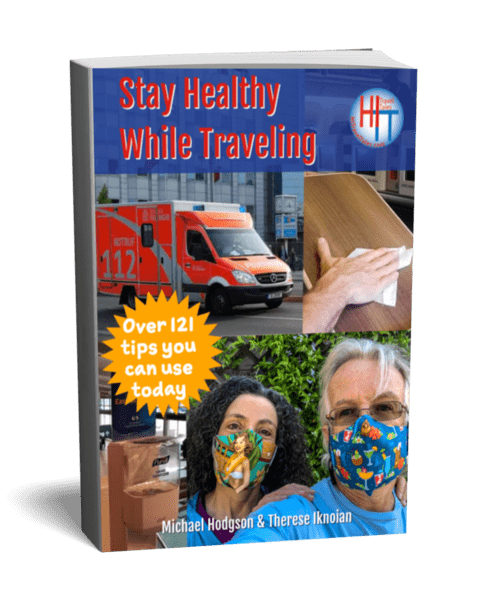 Stay Healthy While Traveling Cover