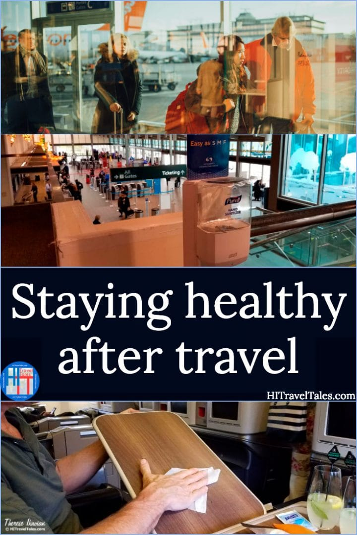 Staying healthy after air travel