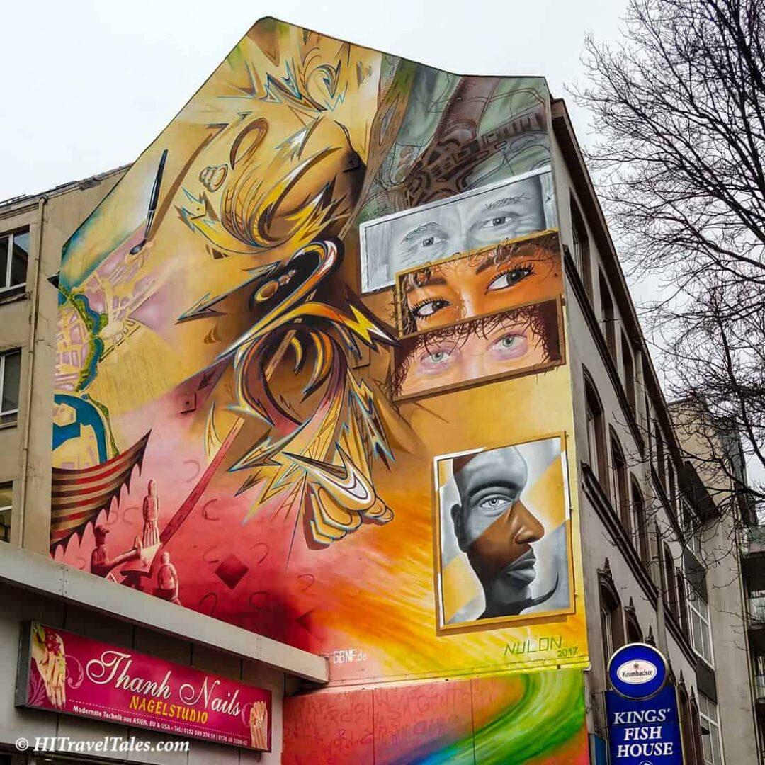 Street Art Nulon Hamburg