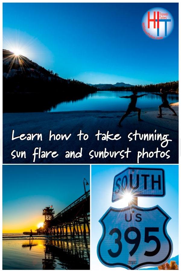 Stunning Sun Flare And Sunburst Photos